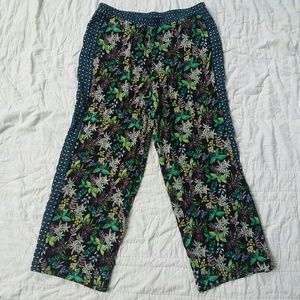 Anthropologie Ett Twa Floral Printed Pants